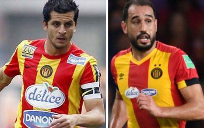 Khalil Chammam et Sameh Derbali prolongent avec l'Espérance de Tunis