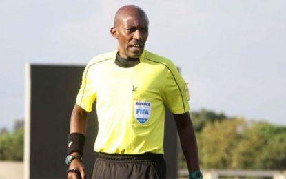 L'arbitre rwandais Louis Hakezimana pour officier Tunisie-Mauritanie