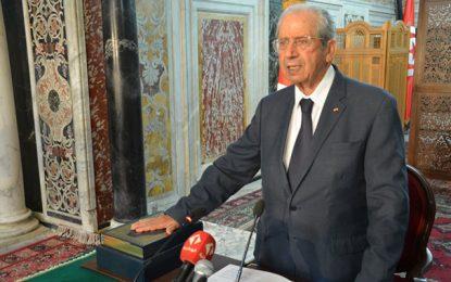 Président de la république par intérim, Mohamed Ennaceur prête serment à l'Assemblée (vidéo)