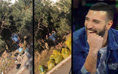 Environnement : Nidhal Saadi donne l'exemple et lance un challenge de nettoyage