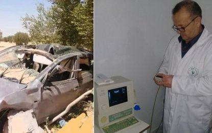 Dr Noureddine Mekki, président de l'APAHT Sidi Bouzid, décède dans un accident de la route à Sfax