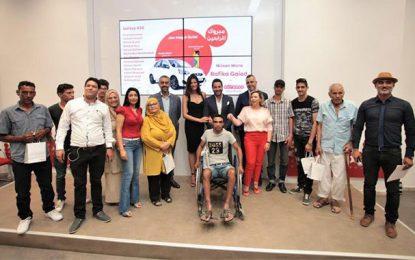 Rym Saïdi remet les prix aux gagnants du jeu Ooredoo Méga Quiz