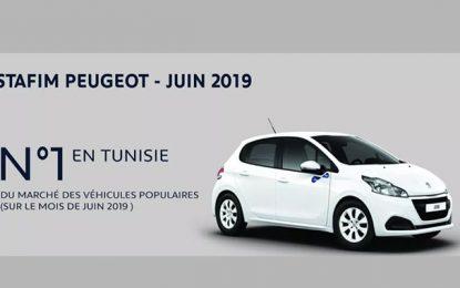 Stafim Peugeot n°1 du marché des voitures populaires en Tunisie, au 1er semestre 2019