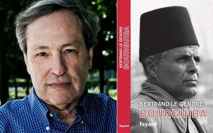 Auréolé du Grand Prix de la biographie, Bertrand Le Gendre présente son ''Bourguiba'' à Tunis