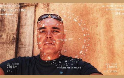 ''Hor-I-zons'', performance marchée de Ridha Dhib : Paris-Sousse… 3000 kilomètres à pied