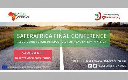 Conférence SaferAfrica sur la sécurité routière en Afrique, le 18 septembre 2019 à Gammarth