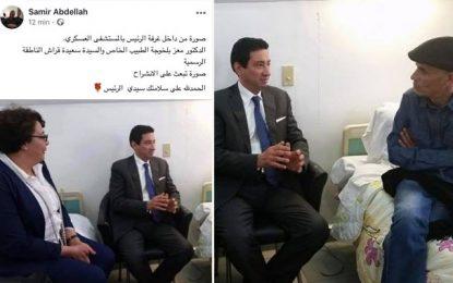 Etat du président Caïd Essebsi : Me Abdellah trompe les Tunisiens en diffusant une photo «truquée»