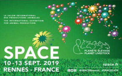 Visite d'hommes d'affaires tunisiens au salon Space, les 11-12 septembre 2019, à Rennes