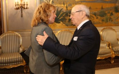 Stefania Craxi : «L'absence de Béji Caïd Essebsi sera ressentie bien au-delà des frontières de la Tunisie»