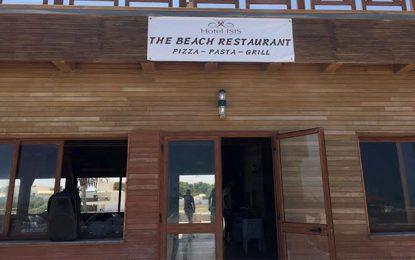 Il n'y a pas eu d'incendie au restaurant-plage The Beach Isis Djerba