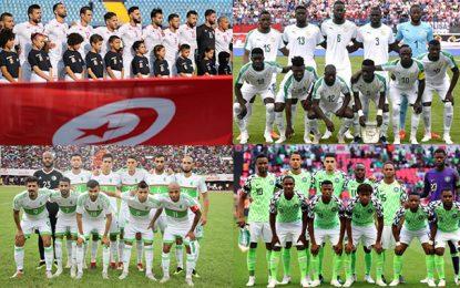 CAN 2019 : La Tunisie, le Sénégal, l'Algérie et le Nigéria  reviennent de loin