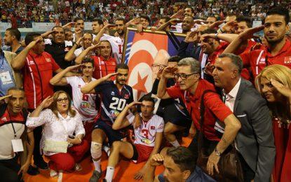 L'équipe de Tunisie de volley remporte son 10e championnat d'Afrique et dédie sa victoire à la mémoire de Béji Caïd Essebsi (Vidéo)