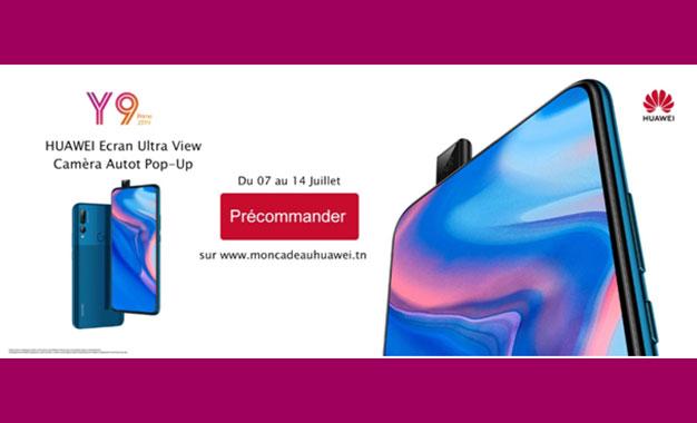 Le Huawei Y9 Prime 2019 Disponible En Tunisie En Precommande Avec