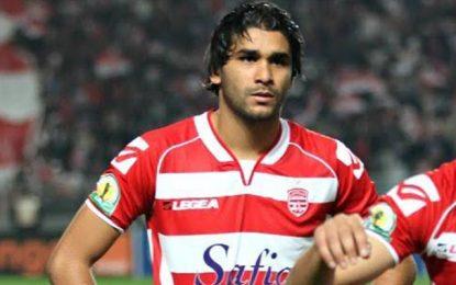 Le défenseur du Club africain Bilel Ifa entre Alexandrie et Ismaili
