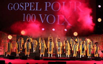 Gospel pour 100 Voix au Festival de Carthage : Un moment de communion et de grand art