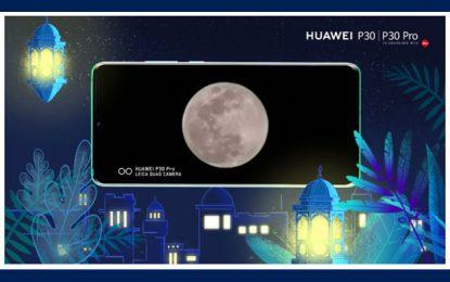 Huawei révèle une méthode et une configuration de caméra pour une capture de lune vive