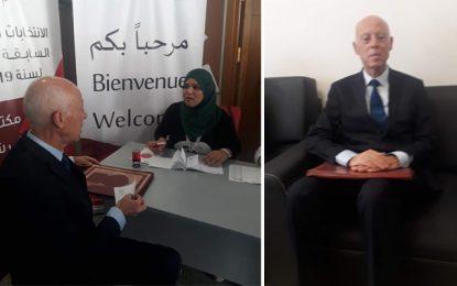 Présidentielle 2019 : Avec 30.274 parrainages de citoyens, Kaïs Saied dépose sa candidature
