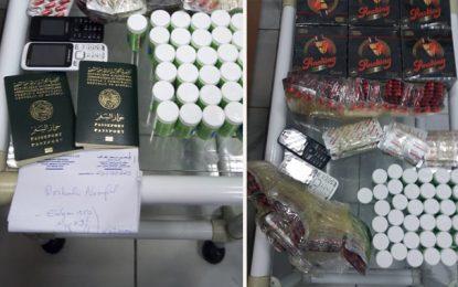 Kram : Deux Algériens arrêtés en possession de 2.306 pilules psychotropes et des ordonnances médicales