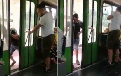 Tunis : Deux voleurs filmés par un passager dans le métro, activement recherchés par la police (vidéo)