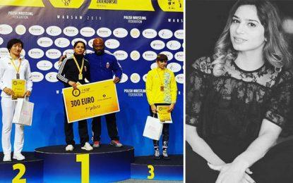 Médaille d'Or pour la lutteuse tunisienne Marwa Amri à l'Open de Pologne