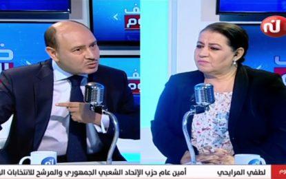 Lotfi Mraihi sur Nessma TV :  Karoui ne respecte pas la loi et ne devrait pas se présenter à la présidentielle (vidéo)