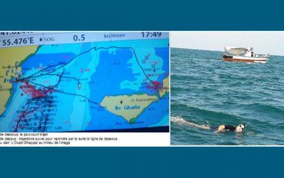 Myriam Zalila relève de défi de joindre Sfax et Kerkennah à la nage