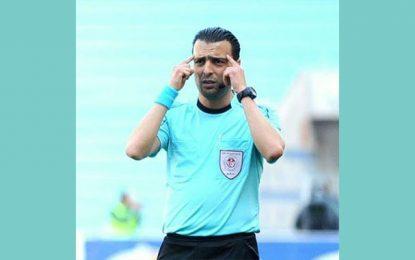 Naim Hosni arbitre de la finale de la Coupe de Tunisie entre le CSS et l'ESS