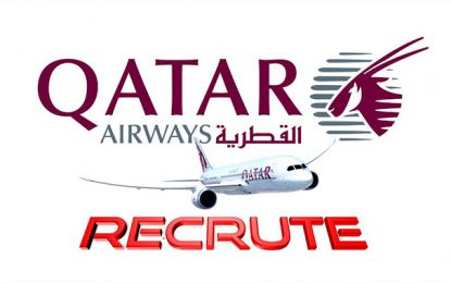 Qatar Airways recrute plusieurs profils dans la restauration, au courant du mois d'août 2019
