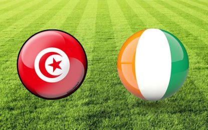 Football : Rencontre amicale Tunisie-Côte d'Ivoire le 10 septembre 2019