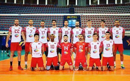 Volleyball : La Tunisie jouera la Pologne, la Slovénie et la France pour un billet olympique