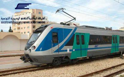 Après la  panne électrique de ce matin, le trafic ferroviaire à la banlieue sud de Tunis reprend vers midi