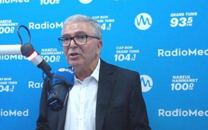Zbidi à propos de l'agression d'un journaliste lors de son meeting : Je n'ai pas à m'excuser et je l'invite à porter plainte (vidéo)