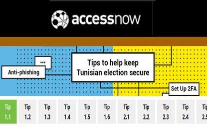 Access Now : Des conseils pour sécuriser les élections en Tunisie