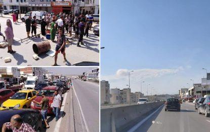 Ariana : Fermées par des manifestants, les routes enfin rouvertes ! (vidéo)