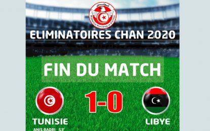 Éliminatoires CHAN 2020 : La Tunisie remporte le match aller contre la Libye