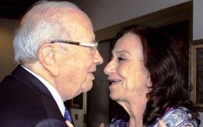 Chadlia Farhat Caïd Essebsi sera accompagnée à sa dernière demeure, demain, au cimetière du Jellaz