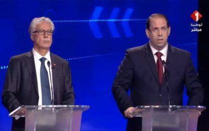 Débat de la présidentielle  : Hamma Hammami accuse Youssef Chahed de corruption