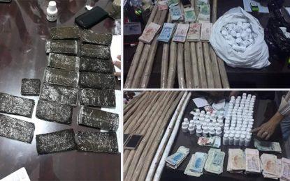 Hammamet : Trois Algériens et une Tunisienne arrêtés pour trafic de drogue