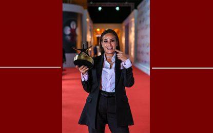 Hend Sabri sacrée meilleure actrice au Festival du Film d'Al Gouna 2019 en Egypte