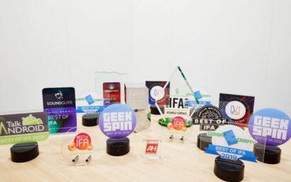 Technologie mobile : Huawei récolte une moisson de prix  à l'IFA 2019
