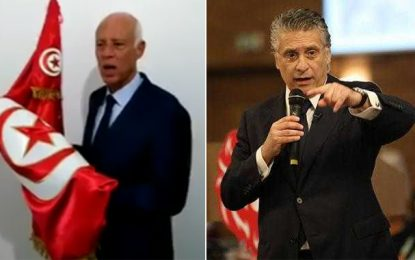 Présidentielle : A 77% de dépouillement des bulletins de vote, Saïed et Karoui toujours en tête