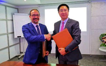 Expertise technique de Huawei à Mattel, filiale de Tunisie Telecom, pour l'aider à renforcer son réseau de télécoms