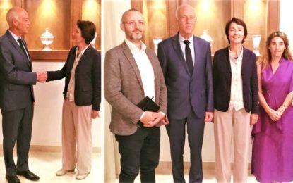 Présidentielle : Kaïs Saïed reçoit des membres de la Mission d'observation électorale de l'Union européenne