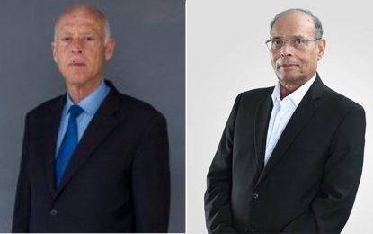 Présidentielle : Mohamed Moncef Marzouki soutient Kaïs Saïed au second tour