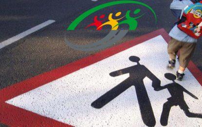 Sécurité routière : Campagne de sensibilisation pour les élèves à l'occasion de la rentrée scolaire