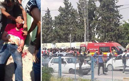 Sakiet Ezzit : Des élèves du lycée Mongi Slim agressés et blessés par ceux d'un autre lycée (Vidéo)