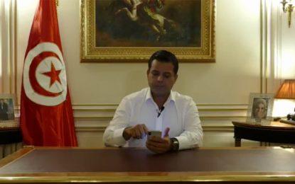 Présidentielle 2019 : Slim Riahi se retire et appelle à voter Abdelkrim Zbidi (vidéo)