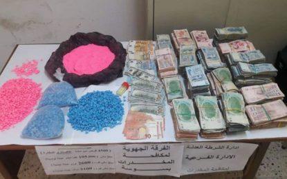 Trafic de drogue et de devises entre Sousse et Kairouan: Deux suspects en détention