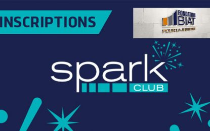 La Fondation Biat pour la Jeunesse ouvre les inscriptions au programme Spark de novembre 2019 à mai 2020