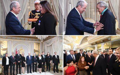 Tunisie : Les sportifs à l'honneur au Palais de Carthage (Photos)